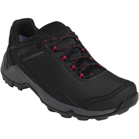 adidas TERREX Eastrail Gore-Tex Zapatillas Senderismo Resistente al Agua Mujer, carbon/core black/acitve pink